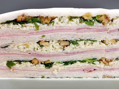 sandwich de miga, la piedad confiteria familiar, confiteria la piedad